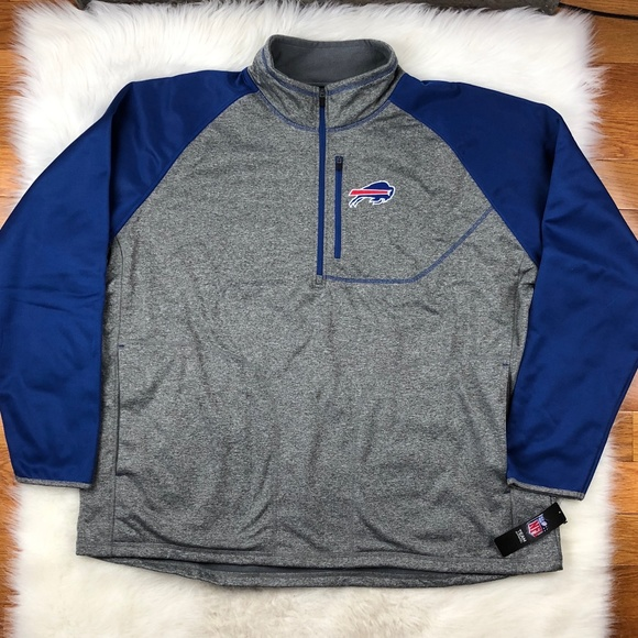 best sneakers b7f7c 327d6 Buffalo Bills Men's NFL Softshell Track Jacket 4XL Boutique